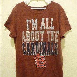 MLB St. Louis Cardinals Woman's S T-Shirt